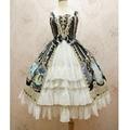 Nova lolita jsk dress sweet cristal série coelho chiffon dress por yiliya