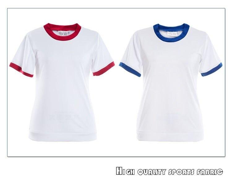 Милая японская школьная Спортивная одежда для девочек, шаровары, косплей, униформа, костюмы, Классический Топ+ шорты, комплект из 2 предметов, красный и синий