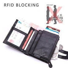 Weduoduo New Style Credit Card Holder Men And Women Anti RFID Multi Function Wallet Large Capacity Cases