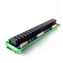 20-way original Fujitsu relay single-group module 24V compatible with NPN/PNP rail mounting