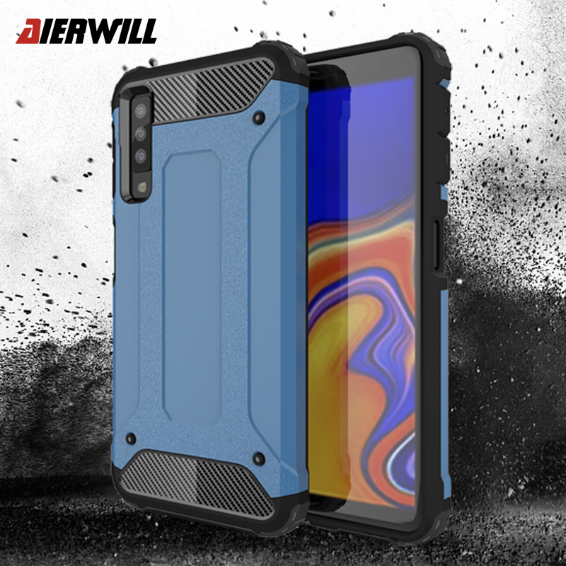 watch d5dc1 0018e Shockproof case For Samsung Galaxy A7 2018 Case Armor Shell ...