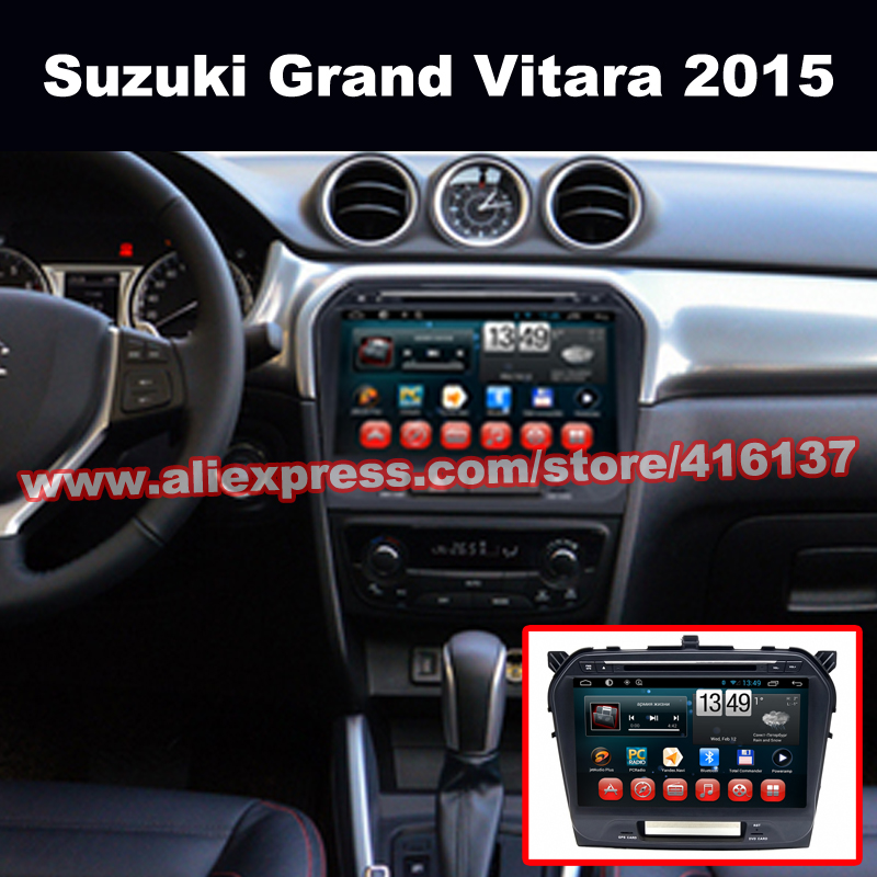 Touch Screen Radio In A Suzuki Vitara