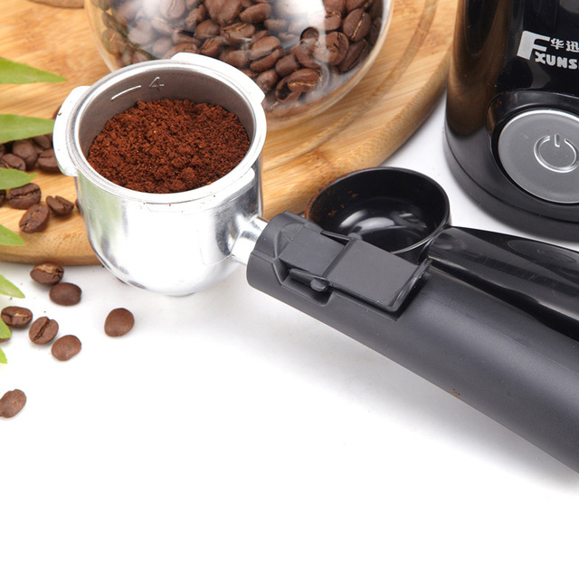0.24L 5 Cups Electric Coffee Maker / Milk Foam Maker Office Espresso Italian Style Automatic Insulation Electric Coffee Machine 4