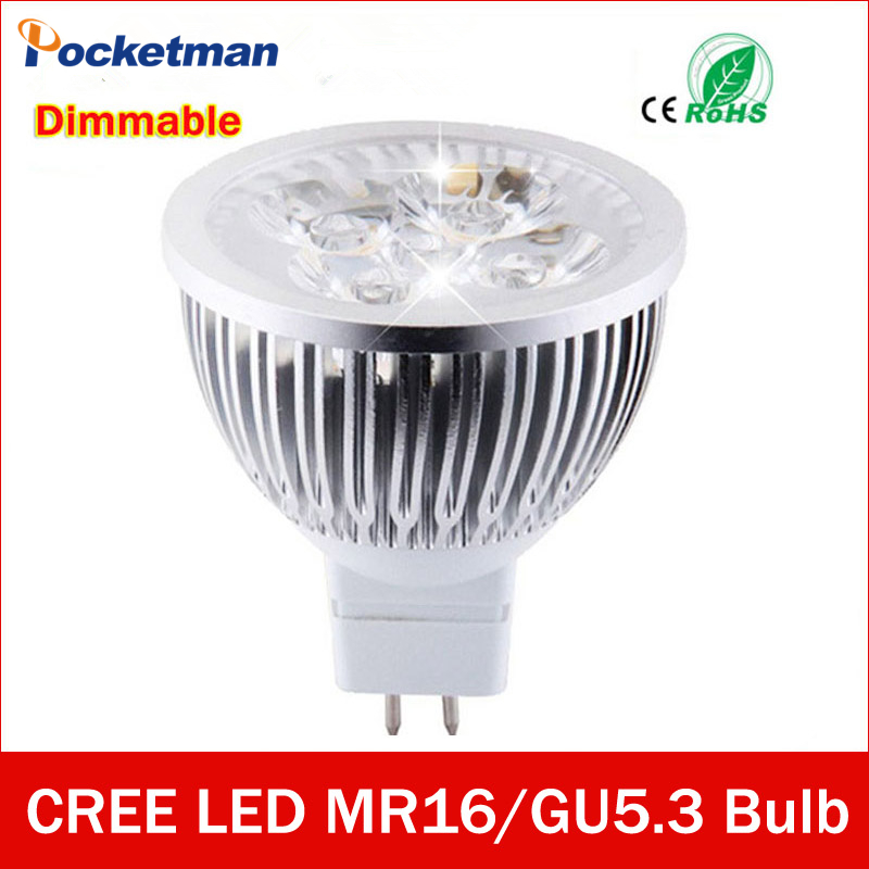 high lumen cree mr16 gu5 3 led spot light lamp 12v 220v. Black Bedroom Furniture Sets. Home Design Ideas