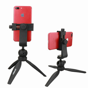 Image 2 - Ulanzi Smartphone Tripod Mount Adapter Tripod Clipper Holder Youtube Landscape Shooting Tripod Stand for iPhone X 7 plus Samsung