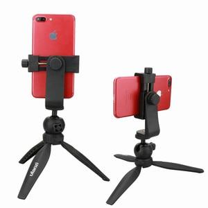 Image 2 - Ulanzi Smartphone חצובה הר מתאם חצובה גוזז מחזיק Youtube נוף ירי חצובה Stand עבור iPhone X 7 בתוספת Samsung