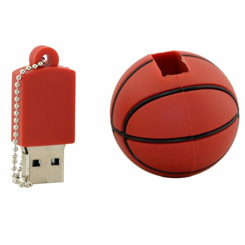 Basket Sport USB Flash Drive 4GB 8GB 16GB 32GB Memory Stick Boll - Extern lagring - Foto 3