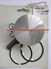 Piston Kit with Pin Rings Clips Set kit for fit ST066, 660 (54mm)