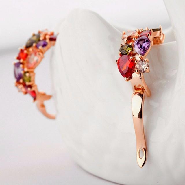 Luxury Mona Lisa Stud Earrings For Women – Crystal Wedding Jewelry Earrings