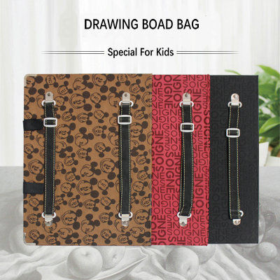 цена на Children Painting Art Pad Backpack Drawing Board Bag Art Supplies Storage Sketch Board For Kids