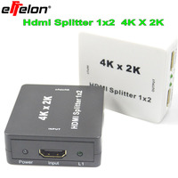 High Quality Full HD 1x2 Port HDMI Splitter 1 IN 2 OUT Amplifier Repeater 3D 4K