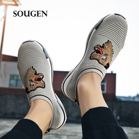 Size 39 45 Male Shoes Adult Chaussure Homme Slip Espadrilles Men Sneakers Platform Off White Shoes Fashion Man 2019 Trainers