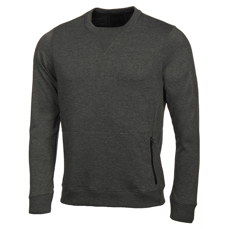 Male Sweatshirt ASICS 146596-0773 sports and entertainment for men sport clothes