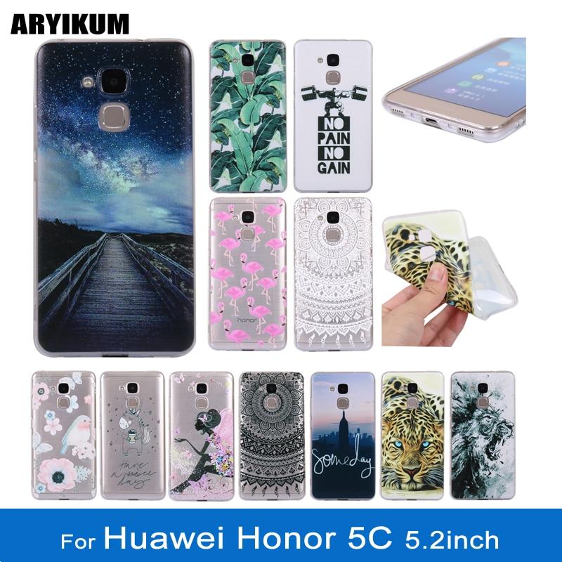 <font><b>Phone</b></font> <font><b>Case</b></font> For Huawei <font><b>Honor</b></font> 5C Coque Huawei GT3 TPU Soft Silicone Cute Cartoon <font><b>Anime</b></font> Back Cover For Huawei <font><b>Honor</b></font> 7 Lite <font><b>Case</b></font>