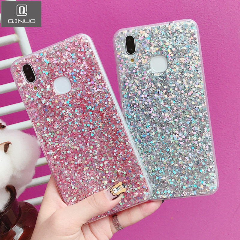 Ambitious Glitter Dynamic Liquid Case For Huawei P8 Lite Cover Bling Sand Quicksand Star Paillette Transparent Clear Hard Phone Shell For Sale Half-wrapped Case Phone Bags & Cases