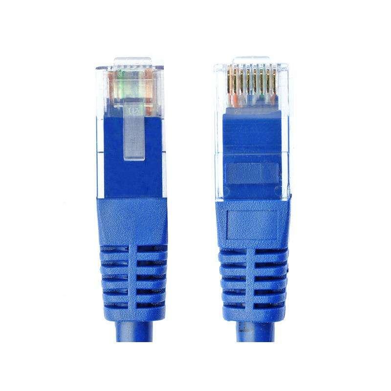 Más de cinco tipos de doble protección contra interferencias de cobre/alambre de cobre puro CAT5e Red de par trenzado línea 300 M