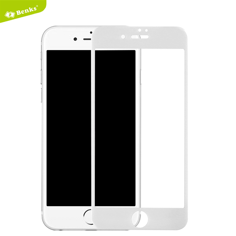 2016 Original <font><b>Benks</b></font> <font><b>Tempered</b></font> Glass for iPhone 7/7 Plus Screen Protector <font><b>KR</b></font>+<font><b>Pro</b></font> 3D <font><b>Curved</b></font> <font><b>Full</b></font> <font><b>Cover</b></font> ProtectiveFilmExplosionProof
