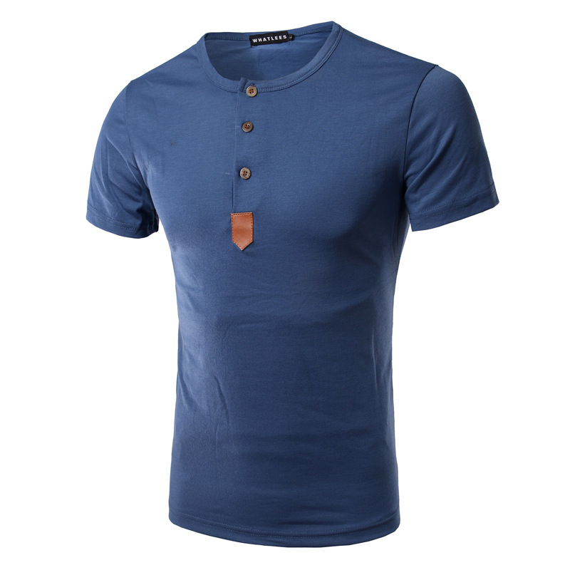 new arrival t shirt men tee shirt homme 2016 summer fashion v neck short sleeve henley shirt. Black Bedroom Furniture Sets. Home Design Ideas