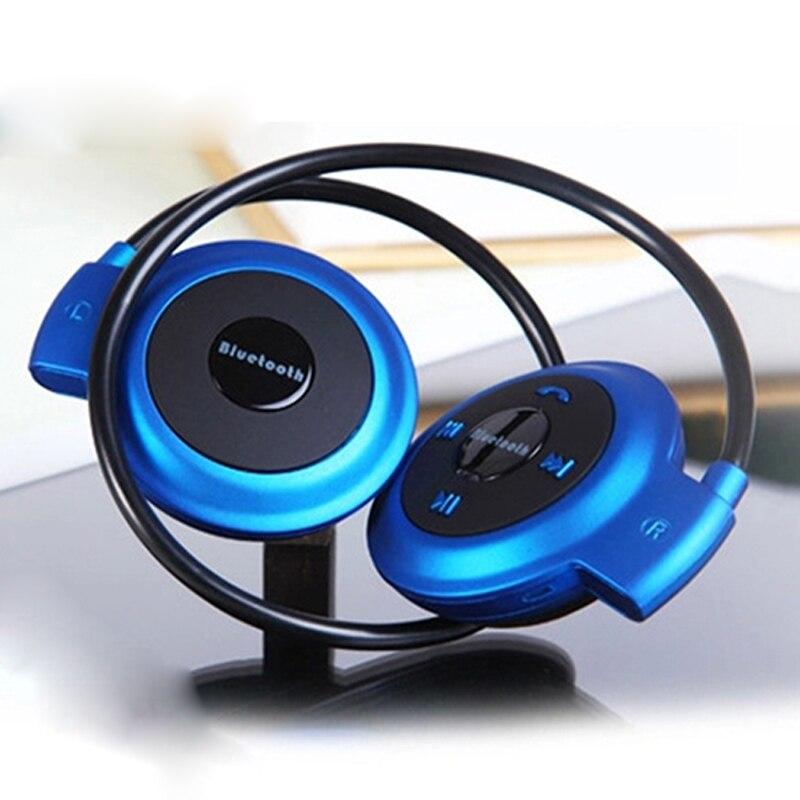 Mini 503 Bluetooth 4.0 Headset Sport Wireless Headphones Music Stereo Earphones Support Micro SD Card Slot + FM Speakers Mini503