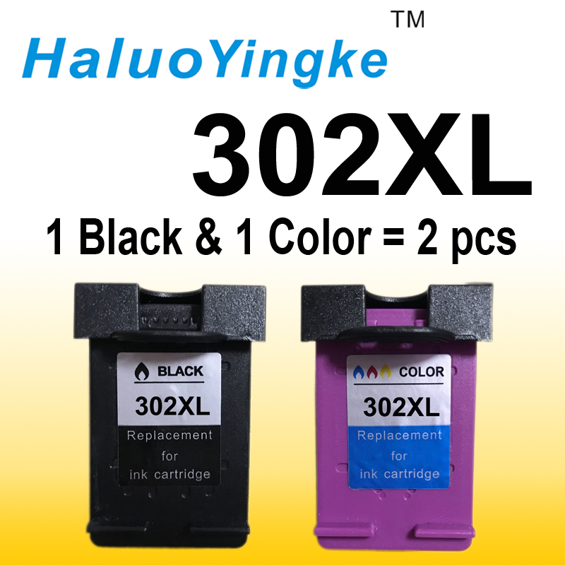 2PCS 302XL ink cartridge replacement for HP 302 XL Compatible For HP Deskjet 2130 2135 1110 3630 3632 Officejet 3830 3834 4650 цена