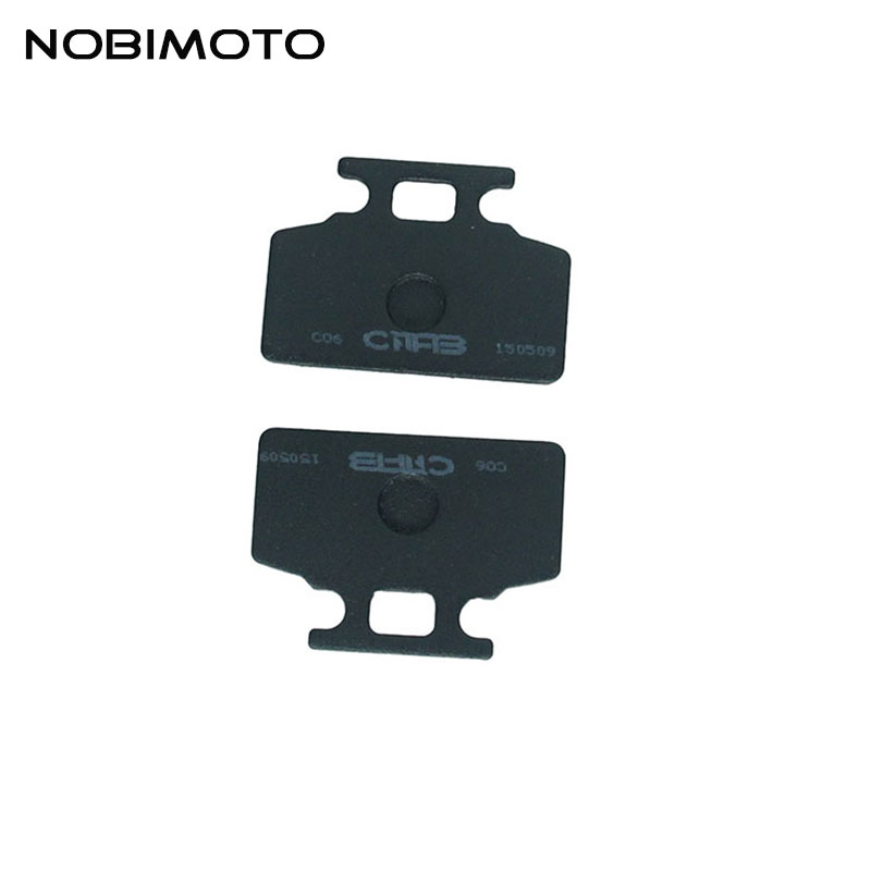 New Front Disc Brake Pads Brake Shoes Sets Motorcycle Parts For GY6 50cc Scooter Moped ATV Motorcycle Scooter engine DS-120-1 2pc yamah zuma bws 50 yw50 50cc front disc brake pads
