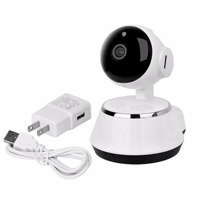 ¡ Venta caliente! 720 P PTZ fácil de instalar p2p WiFi cámara IP Inalámbrica de interior con APLICACIÓN para el bebé el Mejor Precio de Calidad Superior Jan11