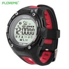 Floveme sport gesundheit nachtleuchtende smart watch fitness tracker schrittzähler armband für android ios armband bluetooth smartwatch