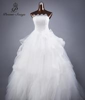 Poems Songs High Quality Sexy Strapless Style Wedding Dresses For Wedding Vestido De Noiva Bride Dress