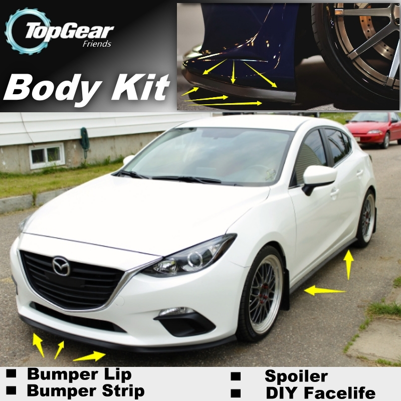 пыльник переднего бампера мазда 3 bl