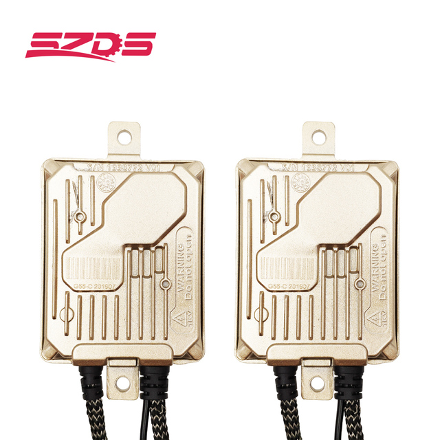 SZDS 12V hid xenon ballast 55w head lamps fog lamp projector lens decoder ignition block replacement bulbs fast start
