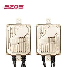 Szds 12 v hid xenon lastro 55w cabeça lâmpadas de nevoeiro lâmpada do projetor lente decodificador bloco ignição substituição lâmpadas início rápido