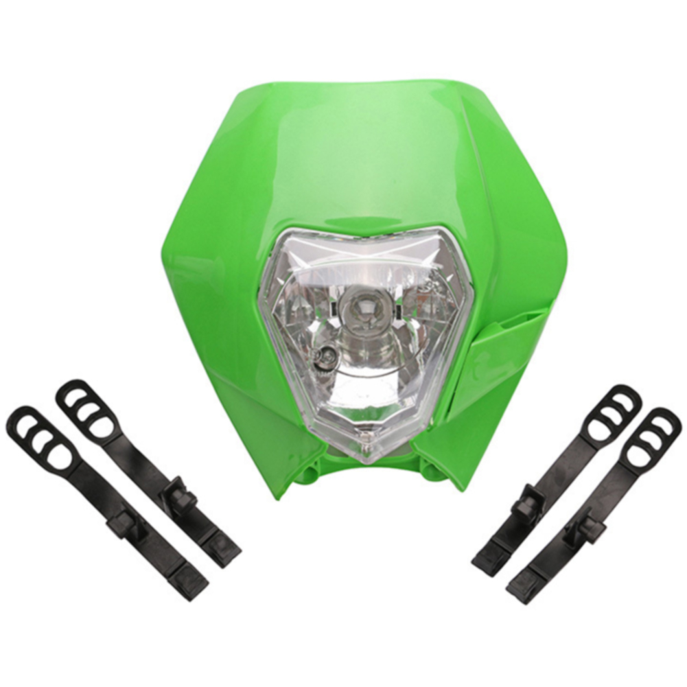 Capable Parts Motorcycle Easy To Install Motocross Headlight Universal Fit Convenient Professional Anti Vibration Accessories Dirt Bike To Reduce Body Weight And Prolong Life