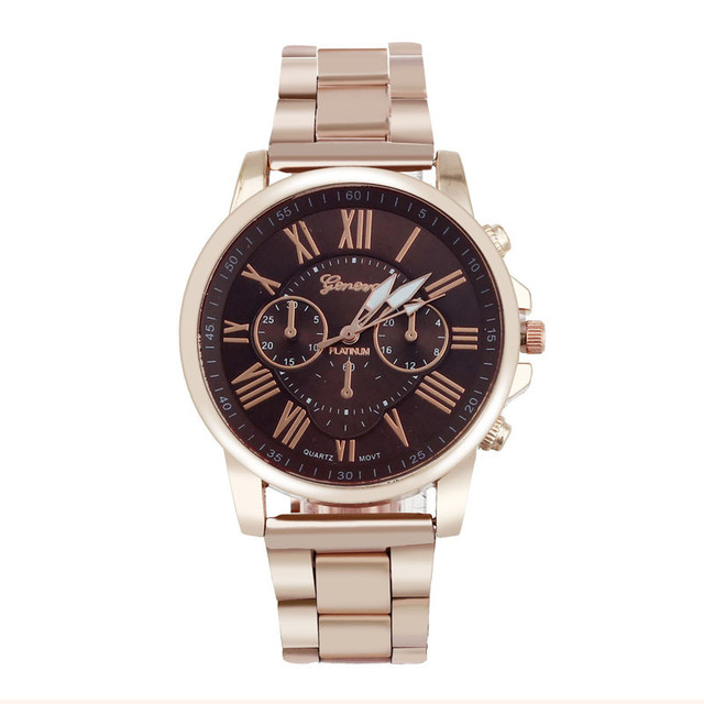 Relojes Mujer Casual Luxury Top Brand Watches Women Roman Number Stylish Geneva