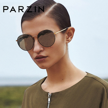 PARZIN TAC Polarized Driving Sun Glasses  Round Sunglasses For Women High Quality Coating Mirror Lens