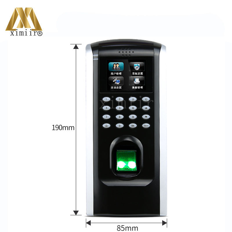 ZK F7plus Fingerprint Access Control Linux System Biometric Fingerprint Time Attendance And Access Control System Door Control zk iface701 face and rfid card time attendance tcp ip linux system biometric facial door access controller system with battery