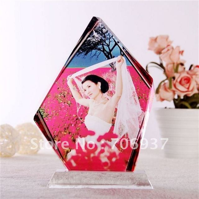 Best selling Free Shipping Crystal Customs Trophy,Film Printing Photos,design OEM logo OEM