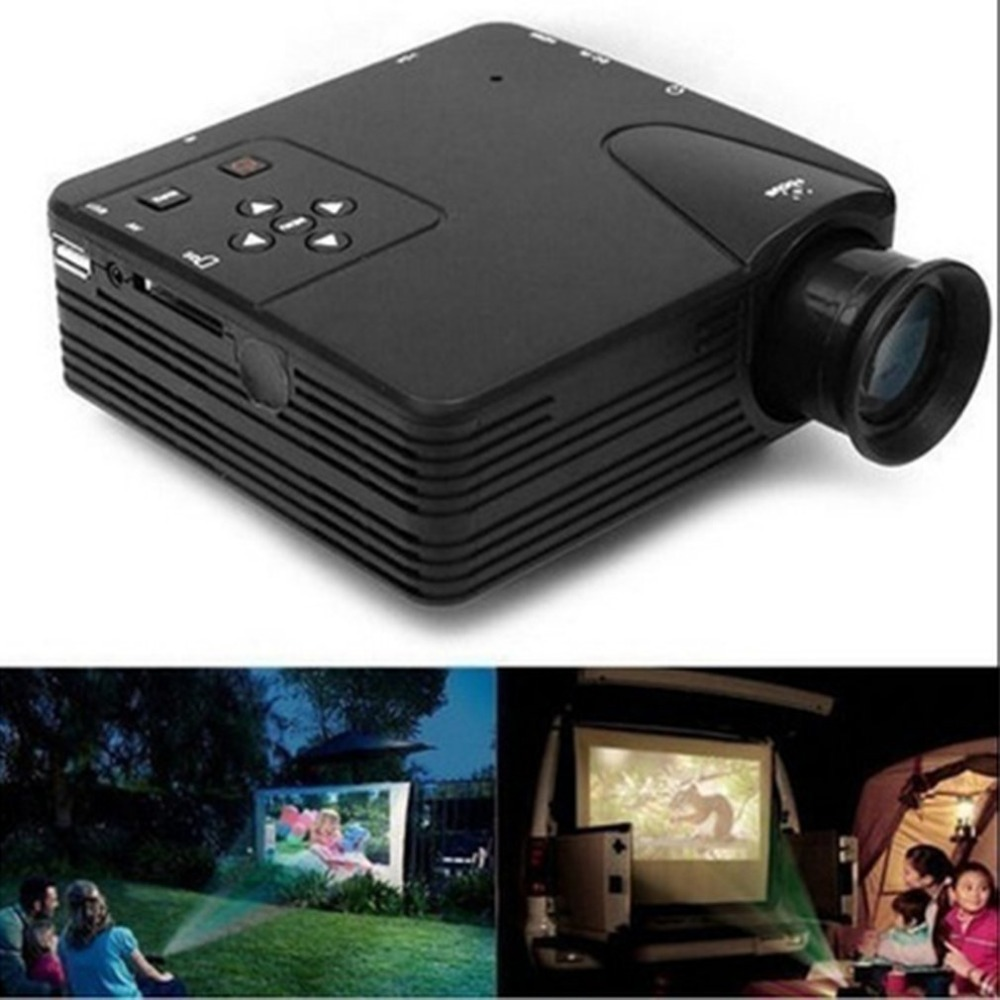 UC28+ Mini Portable 1080P HD Projector Home Cinema Theater Upgraded HDMI Interface Home Entertainment Device Multimedia Player poner saund dlp100w pocket hd portable dlp projector micro wireless multi screen mini led battery hdmi usb portable home cinema
