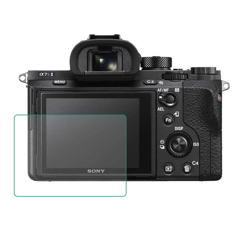 Tempered Glass Screen Protector for Sony A7II A7III A99 A77/A7R A7 A7s mark II III/A7M2 A7M3 A7RIII A7RII A7R2 A7R3 A7SII A7S2