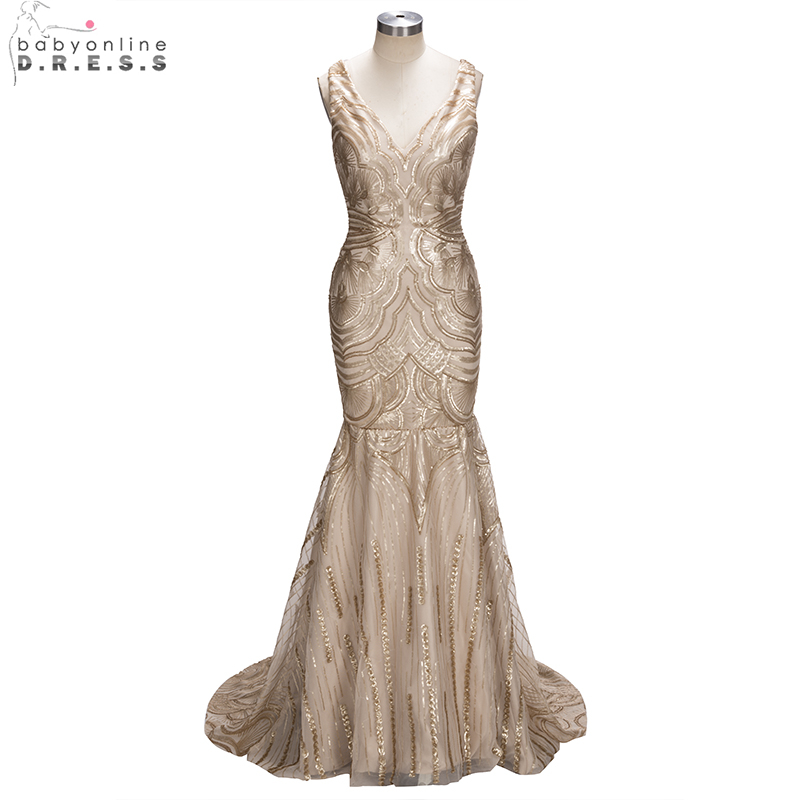 Aliexpress.com : Buy Real Photo Champagne Gold Sequin