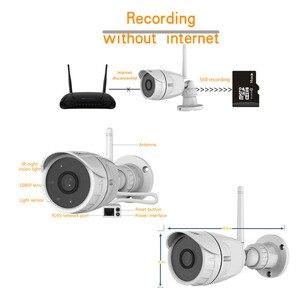 Image 5 - Vstarcam 1080 1080p 2MP ipカメラのwifi屋外カメラIP66防水セキュリティ監視カメラirカットcctv弾丸ipカメラC17S