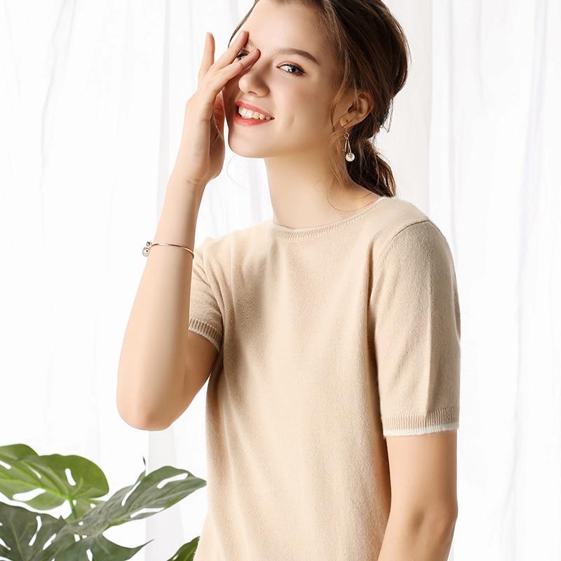 Bonne Bord En Pull Modèle 2019 Qualité Fil Ventilation Cbf Mot De Un Haute noir Femmes Nouveau Beige Une Fin blanc Décoration Cashmere Col 4qnZwxv