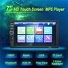 7018B Car Audio 7 Inch 2 DIN Autoradio Stereo Touch Screen Auto Radio Video MP5 Player