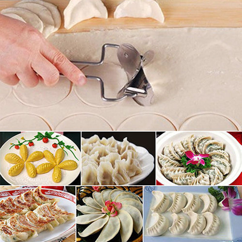 Online Shop 1pc Kitchen Dining Dough Press Dumpling Pie Mould Maker
