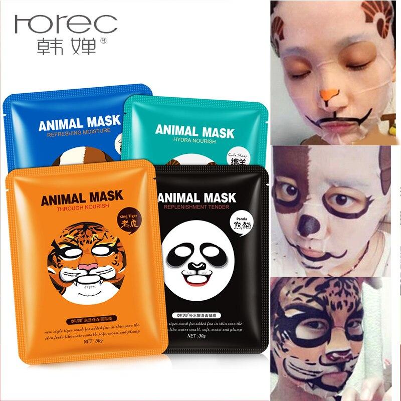 Fun facial masks