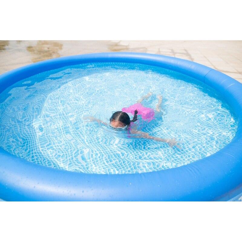duży odkryty dziecko lato nauka pływanie dorosłych nadmuchiwany - Sporty wodne - Zdjęcie 2