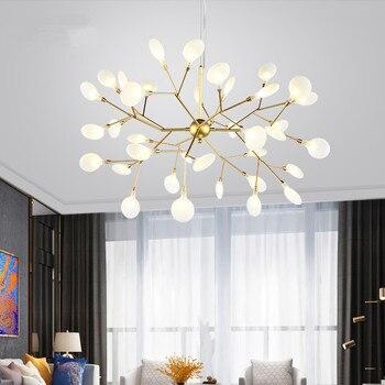 北欧シャンデリアキッチンダイニング寝室の木の枝シャンデリアアート装飾サスペンション光沢 heracleum ライト