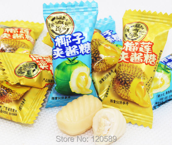 100g Total 4 Tastes Tropical Fruit Candy, Tastes Carambola +