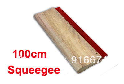 Fast Free shipping Discount and Cheap Silk Screen Printing Squeegee 100cm (39inch) Ink Scaper Tools Materials free shipping discount cheap 2 pcs silk screen printing squeegee 24cm 33cm 9 4 13inch ink scaper tools materials