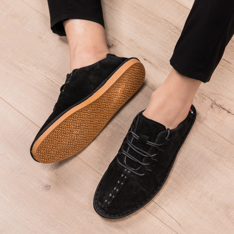 New Arrival Italian Mens Shoes Hot Sale Mens Leather Shoes Casual Office Comfortable Dress Man Loafers Platform Shoes Driving 23