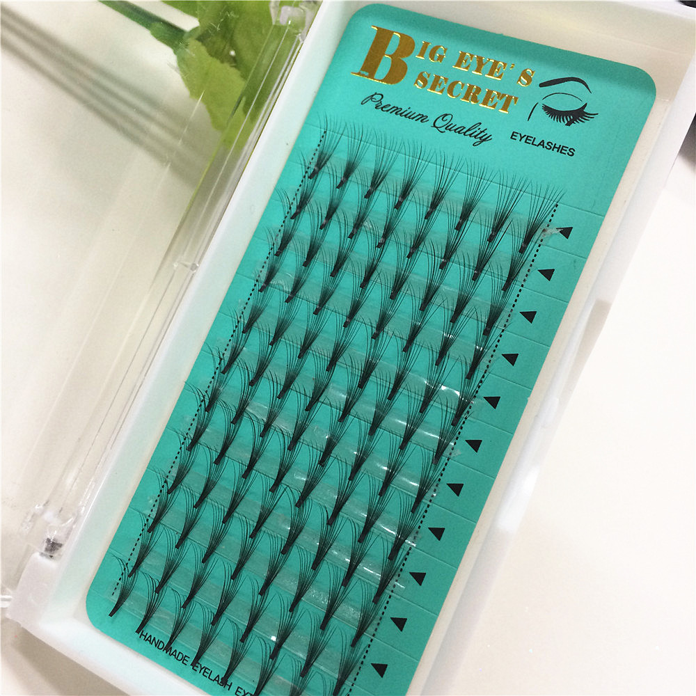 10D Middle Premade Fans Russian Volume Soft And Comfortable Fake Volume False Eyelash Extension Individual Lashes Free Shipping